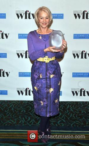 Mirren Receives Lifetime Achievement Honour