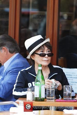 Yoko Ono  wears a Berlin sweatshirt to lunch at Da Silvano  New York City, USA - 21.09.09