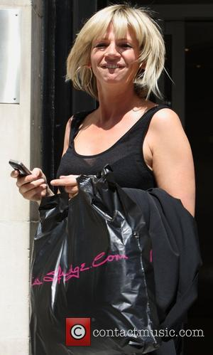 Zoe Ball leaves Radio 2 studios  London, England - 01.07.09