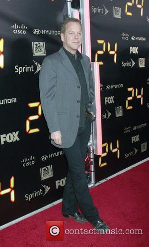 Actor Kiefer Sutherland
