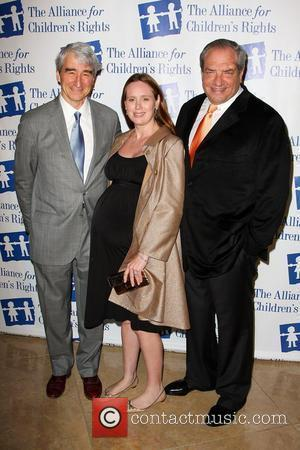 Sam Waterston, Dick Wolf and Guest The Alliance for Children's Rights honors 'Law And Order' held At The Beverly Hilton...