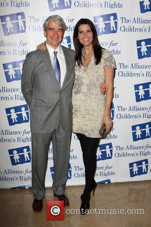 Sam Waterston and Angie Harmon The Alliance for Children's Rights honors 'Law And Order' held At The Beverly Hilton Hotel...