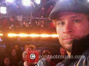 Brian Littrell of the Backstreet Boys posted a photo of himself before the Times Square NYE Celebrations saying This is...