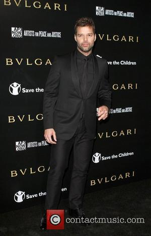 Ricky Martin Dresses Kids For Paparazzi