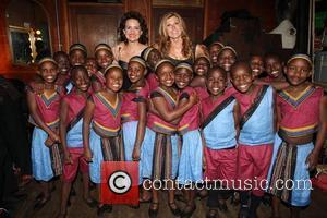 Carla Gugino and Connie Britton  The African Children's Choir annual fundraising gala at The Box New York City, USA...