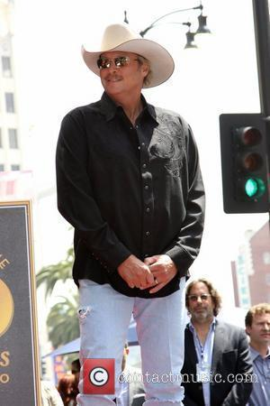 Alan Jackson is honoured with the 2405th star on the Hollywood Walk of Fame Los Angeles, California - 16.04.10