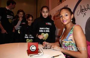 Alesha Dixon  The Launch of the Variety Club - Gold Hearts Appeal at Battersea Power Station London, England -...