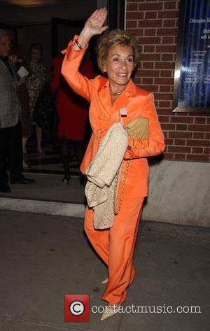 Judge Judy Sheindlin  The opening night of 'Dame Edna and Michael Feinstein's All About Me' at Henry Miller's Theatre...