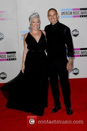 Pink aka Alecia Moore and Carey Hart 2010 American Music Awards (AMAs) held at the Nokia Theatre L.A. Live -...