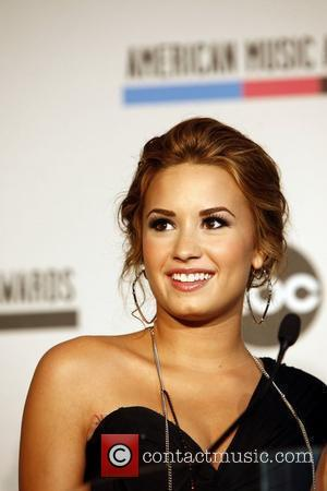 Demi Lovato 2010 American Music Awards Nominations held at the JW Marriott  Los Angeles, California - 12.10.10