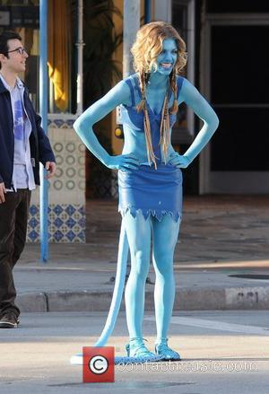 Mccord Goes Blue For Avatar-themed 90210