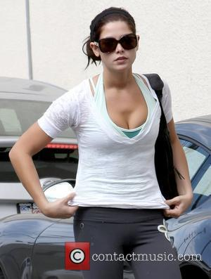 Ashley Greene arriving at a gym wearing workout clothes Los Angeles, California - 30.09.10