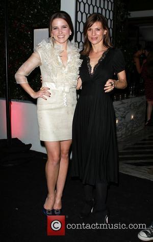 Perrey Reeves, Sophia Bush, Golden Globe Awards, Celebration