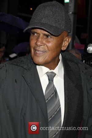 Harry Belafonte  Opening night of the Broadway production 'August Wilson's Fences' held at the Cort Theatre - Arrivals....