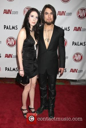 Aiden Ashley and Dave Navarro The AVN Awards 2011 held at the Palms Casino Resort - Arrivals Las Vegas, Nevada...
