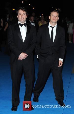 David Mitchell and Robert Webb Philips British Academy Television Awards 2010 (BAFTA) - after party held at the Natural History...
