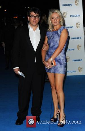 Michael McIntyre Philips British Academy Television Awards 2010 (BAFTA) - after party held at the Natural History Museum. London, England...