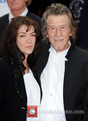 John Hurt and His Wife Ann Rees Meyers