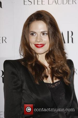 Hayley Atwell Harper's Bazaar Woman of the Year Awards 2010 held at One Mayfair - Arrivals  London, England
