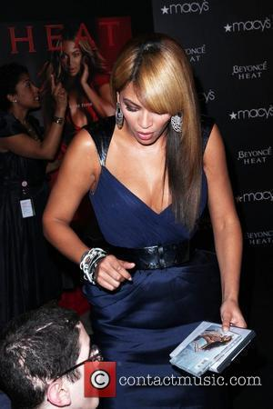 Beyonce launches her new fragrance 'Beyonce Heat' at Macy's Herald Square New York City, USA - 03.02.10