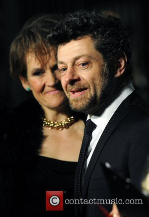 Guest and Andy Serkis BFI London Film Festival: Awards Ceremony held at the LSO St Luke's - Arrivals London, England...