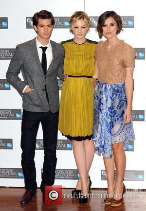 Andrew Garfield, Carey Mulligan and Keira Knightley  The 54th Times BFI London Film Festival - Never Let Me Go...