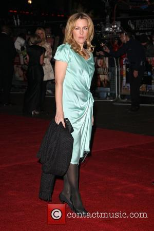 Gillian Anderson The 54th Times BFI London Film Festival - 'Never Let Me Go' - Premiere - Opening Gala...