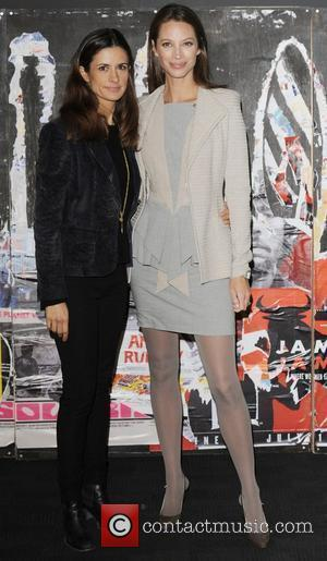 Livia Firth and Christy Turlington The 54th Times BFI London Film Festival - No Woman, No Cry - Photocall London,...