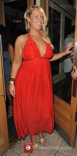 Josie Gibson at the Big Brother 11 wrap party, held at Grace Bar. London, England - 14.09.10