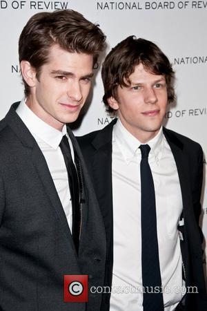 Andrew Garfield and Jesse Eisenberg The 63rd National Board of Review of Motion Pictures Gala, held at Cipriani 42nd Street...