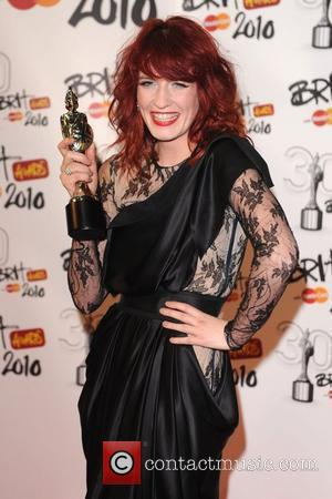 Florence Welch The BRIT Awards 2010 - 30th Anniversary held at Earl's Court - Press Room London, England - 16.02.10
