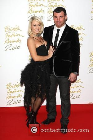 Kristina Rihanoff and Joe Calzaghe The British Fashion Awards 2010 held at the Savoy London, England - 07.12.10
