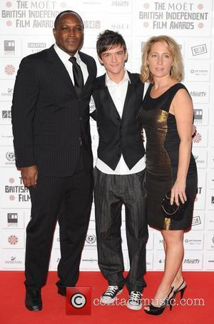 George Sampson and guests The British Independent Film Awards held at the Old Billingsgate Market - Arrivals. London, England -...