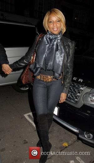 Mary J. Blige at C London restaurant London, England - 04.11.10