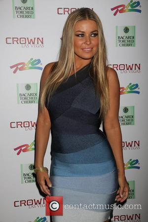 Carmen Electra hosts an event at Crown nightclub in the Rio Hotel and Casino. Las Vegas, USA - 11.07.10
