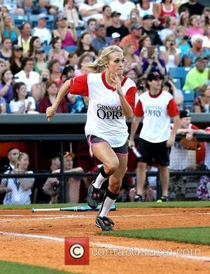 Carrie Underwood The Annual City of Hope Celebrity Softball Challenge at Greer Stadium during CMA Country Music Festival Nashville, Tennessee...
