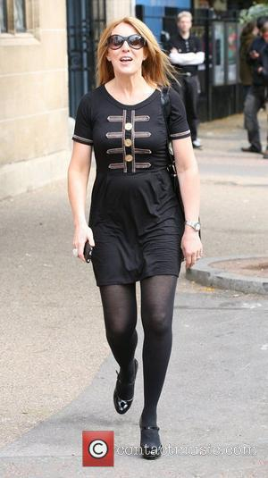 Helen Fospero outside the ITV studios London, England - 13.09.10