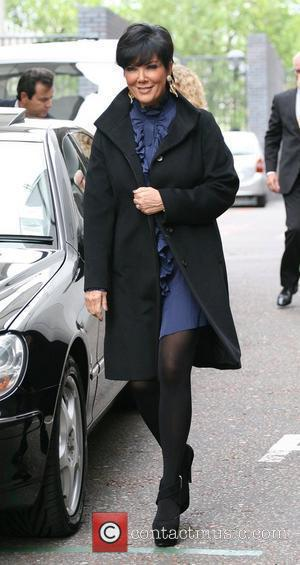 Kris Jenner outside the ITV studios London, England - 13.09.10