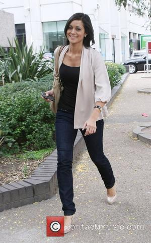 Lucy Verasamy outside the ITV studios London, England - 13.09.10