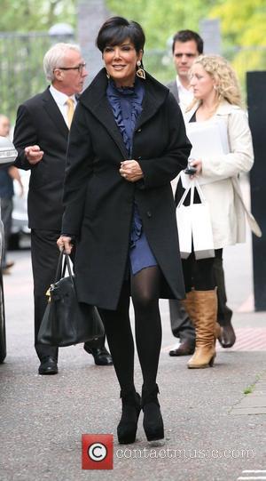 Kris Jenner outside the ITV studios London, England - 13.09.10