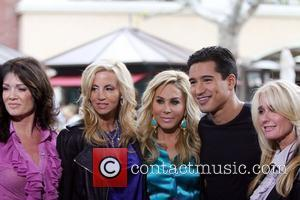 Camille Grammer, Kim Richards and Mario Lopez