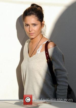 Cheryl Cole arrives at the ITV studios for the X Factor wearing no make-up London, England - 10.10.10