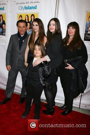 Andy Garcia, Dominik Garcia-lorido and Family