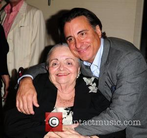 Andy Garcia and His Mother Amelie Menendez