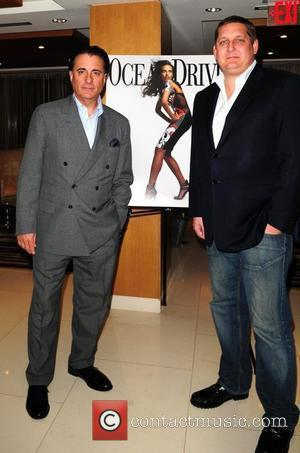 Andy Garcia and Ocean Drive Magazine Publisher Courtland Lantaff