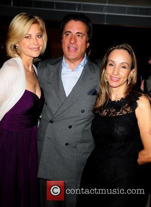 Producer Lauren Versel and Andy Garcia