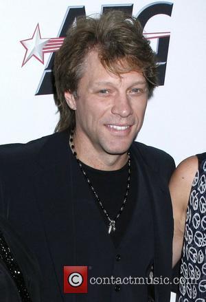 Jon Bon Jovi and Clive Davis