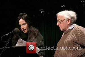 Mary-Louise Parker and Isaiah Sheffer 'An Evening with Colum McCann' held at Symphony Space.  New York City, USA -...