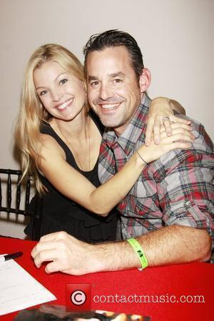 Clare Kramer and Nicholas Brendon from Buffy 2010 Wizard World Big Apple Comic Con held at the Penn Plaza Pavilion....