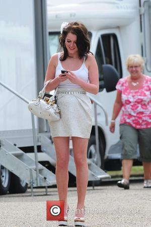 Helen Flanagan 'Coronation Street' Wedding filming on Location.  Manchester, England - 25.06.10